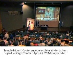 Temple Mount Conference Jerusalem