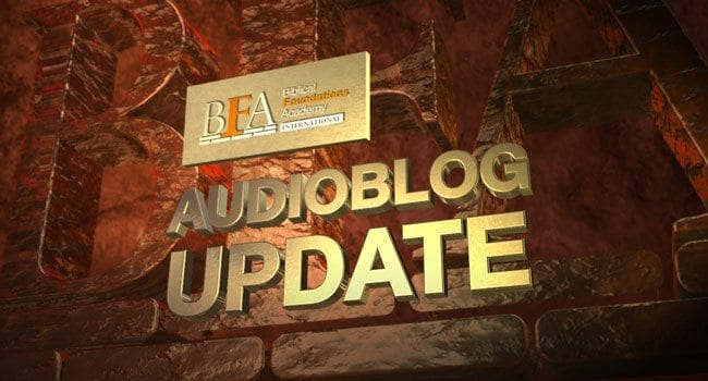 BFAI Audioblog Update with Keith Johnson