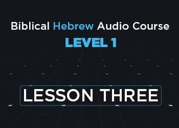 Level 1 Lesson 3