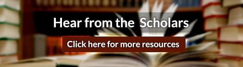 Hear From the Scholars (Free Members Only)